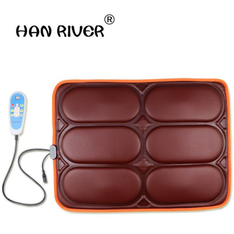 HANRIVER Massage cushion home office general utility vehicles, hip vibration massager chair cushion electric hanriver massager cushion for shakti