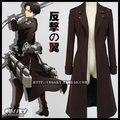 Animación anime shingeki ningún ataque kyojin en titan alas de libertad cabo del capote ropa cosplay