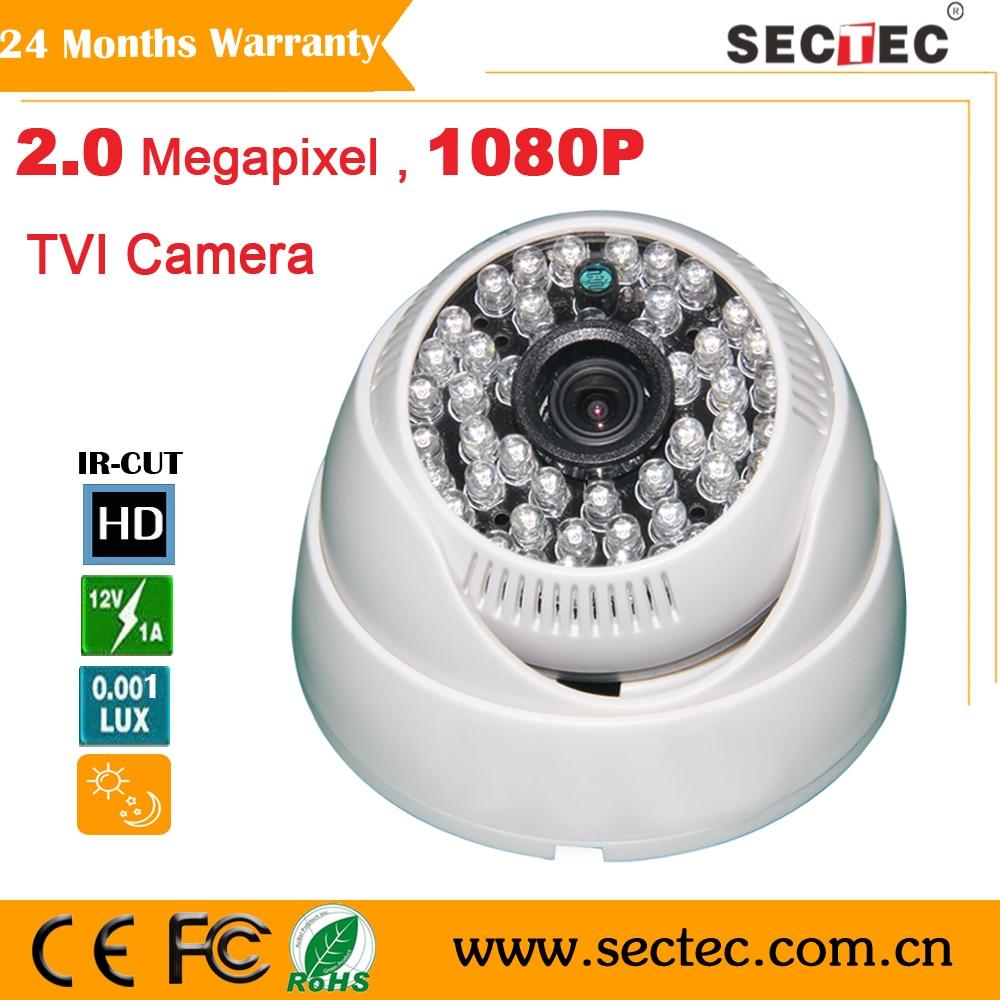 ФОТО Whole sale and retail 2.0 Megapixel HD TVI  Camera 3.6mm HD 3MP Lens Plastic indoor CCTV Camera with 48pcs IR leds