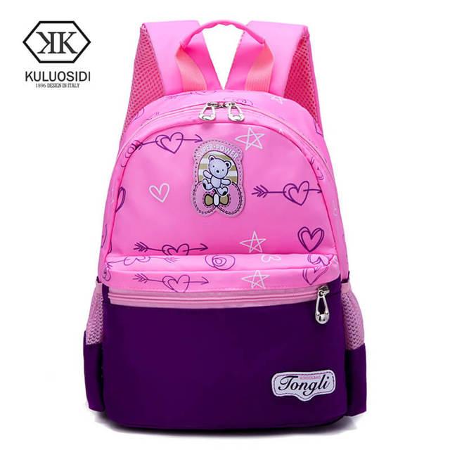 Cartoon Kids School Backpack Children Bags For Kindergarten S Boys Nursery Baby Student Book Bag
