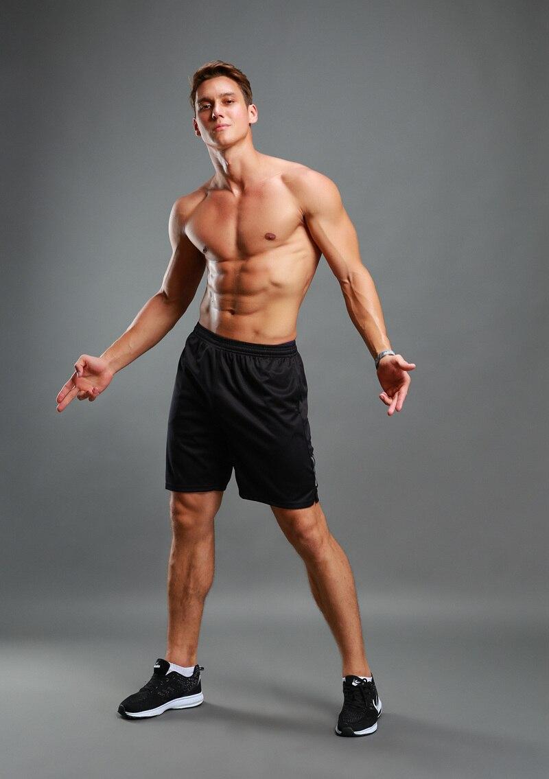 3c3c35f3d049 Männer jugend Sommer mode reflektierende Schwarz Shorts Cossfit Bodybuilding  fitness STUDIOS Shorts Trocknen Schnell breathable Beiläufige XXS 3XL in ...