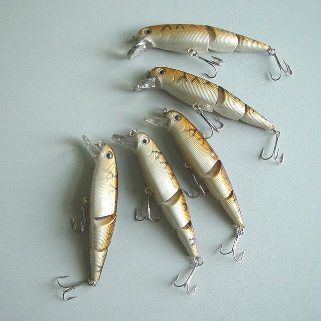 Free shipping, Fishing  Lure,Hard Plastic fish, Minnow,11cm/17g-5/8oz Diving1.2m 12pcs/bag