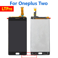 TOP Quality OneplusTwo LCD Display Touch Screen Digitizer Assembly For Oneplus Two Oneplus2 Smartphone Parts Free