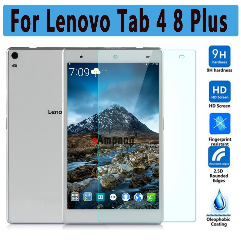 Tempered Glass For Lenovo Tab 4 8 Plus Screen Protector For Lenovo Tab 4 8 Plus Scratchproof Ultra Thin High Clear Screen Glass Aliexpress