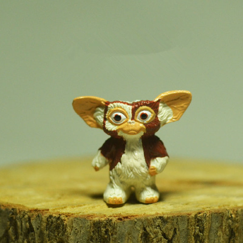 1pcs Original Gremlins Gizmo Action Figures Toy Model Doll 2.5cm original aladdin and the magic lamp action figures toy aladdin jasmine princess model doll