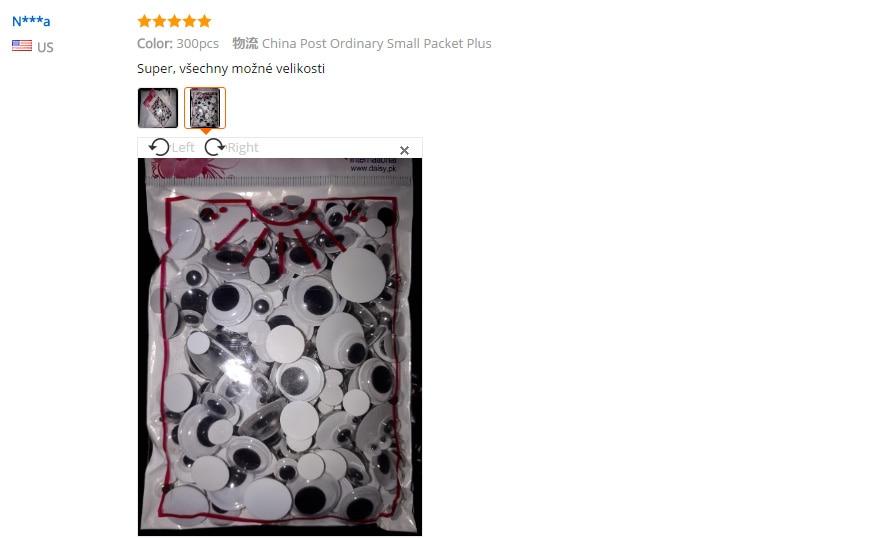 300 шт разные размеры черные защитные Глаза DIY Пластиковые сборные игрушки для кукол аксессуары плюшевая Мягкая кукла чашка украшение автомобиля