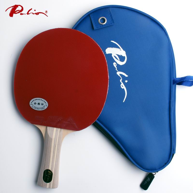 Palio official one star finished racket pimples in for both rubber fast attack with loop ping pong game racquet game palio official 40 blue ak47 table tennis rubber blue sponge for loop and fast attack new style for racquet game ping pong