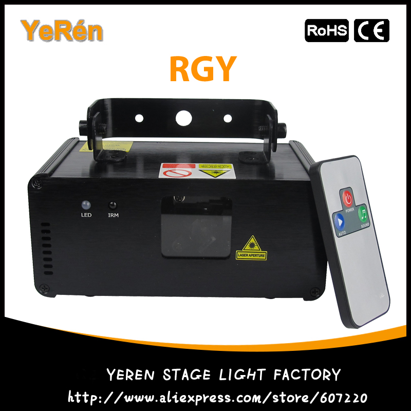 Micro Ray DMX 512 Laser Lights RGY Remote Control kam xy laser rgy