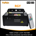 Micro Ray DMX 512 Laser Lights RGY Remote Control
