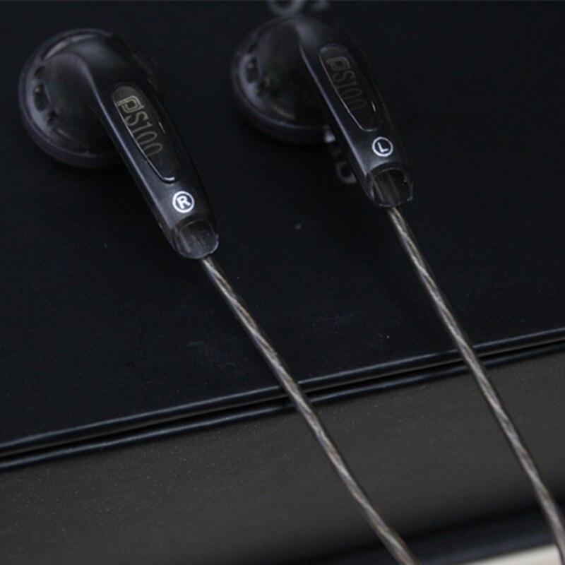 bilder für Neue puresounds PS100-500ohm Flachkopf Klinkenstecker in-ohr Kopfhörer Ohrstöpsel DIY HIFI Stereo Headset PK MX500 MX985 VE Mönch seahf