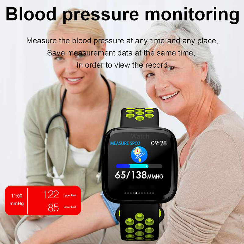 Smart Bracelet GPS Fitness Tracker Blood Pressure Watch Smart Band Waterproof Pedometer Sleep Monitor SamrtBand Smart Wristband in Smart Wristbands from Consumer Electronics