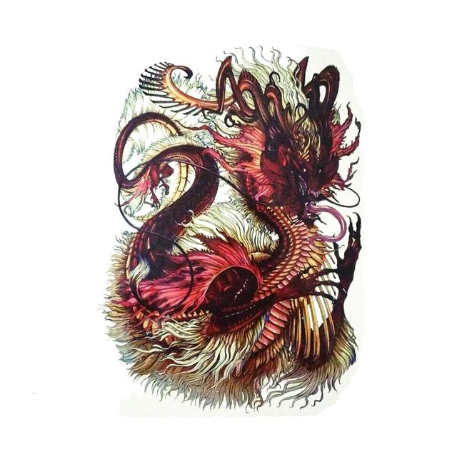 Nouveaux Modeles Chinois Dragon Tattoo Art Grand Dos Entier
