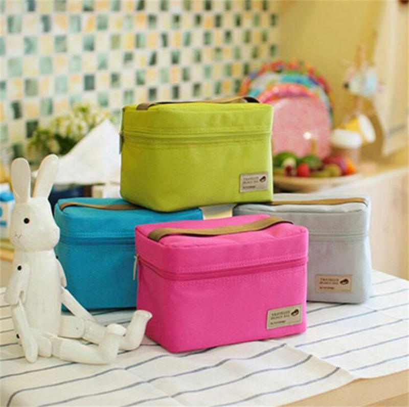Women Kids Men Cooler Lunch Box Bag Insulated Canvas Lunch Bag for women Thermal Food Picnic Lunch Bags Storage Bag