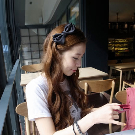 Korean hair jewelry bow hair hoop headband, free home delivery korean hair jewelry bow hair hoop headband free home delivery