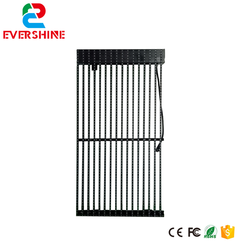 Outdoor activity advertising hanging P31.25 rental led screen Transparent Mesh LED Display Grille LED Screen stage concerts events outdoor rental led display screen p5 95 super clear quality
