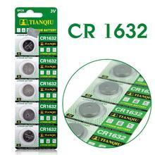 Baterias de Lítio 54% OFF 5X Cr1632 Ecr1632 Kcr1632 Dl1632 Lm1632 3 V Botão Célula de Bateria Brinquedos 1632 Cartão Varejo Lote