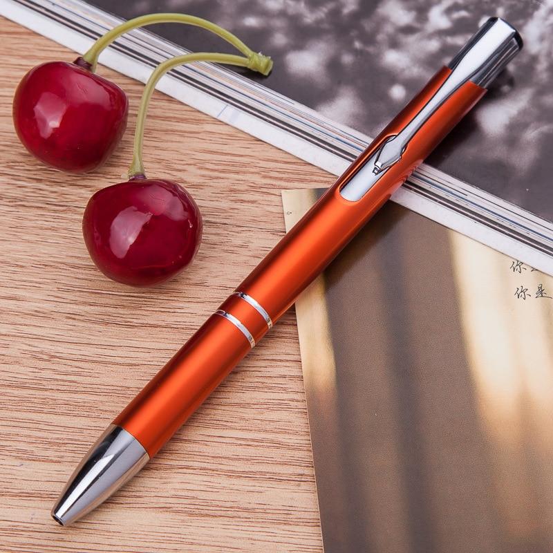 100 ชิ้น/ล็อตขายส่งปากกาโลหะอลูมิเนียมปากกาลูกลื่นปากกาอลูมิเนียมปากกาสำหรับของขวัญขายส่ง-ใน ปากกาลูกลื่น จาก อุปกรณ์ออฟฟิศและการเรียน บน   3