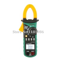 Mastech MS2008A 1999 Counts Mini Digital AC Pinça de Corrente do Medidor Multímetro Multimetro Amperímetro Voltímetro Ohmímetro w/LCD Backlight|clamp meter|mastech ms2008a|clamp meter multimeter -