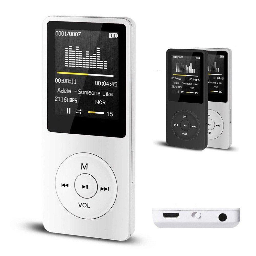 2018 אופנה נייד MP3 MP4 נגן LCD מסך FM רדיו וידאו משחקי סרט dec12
