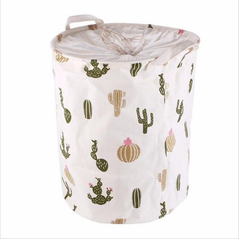 ∞2017 la más nueva manera con estilo cactus patrón de lino de ...