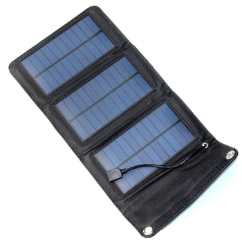 High Quatily 5W Foldable Solar Panel Charger For Mobile Phone Solar Battery Charger USB Output 3pcs/lot  Free Shipping