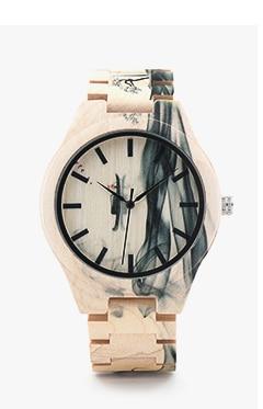 69fc56f1d978 Bobo Bird v-h08 bambú relojes para hombre de cuarzo deporte al aire libre relojes  reloj con correa de cuero Relojes Hombre
