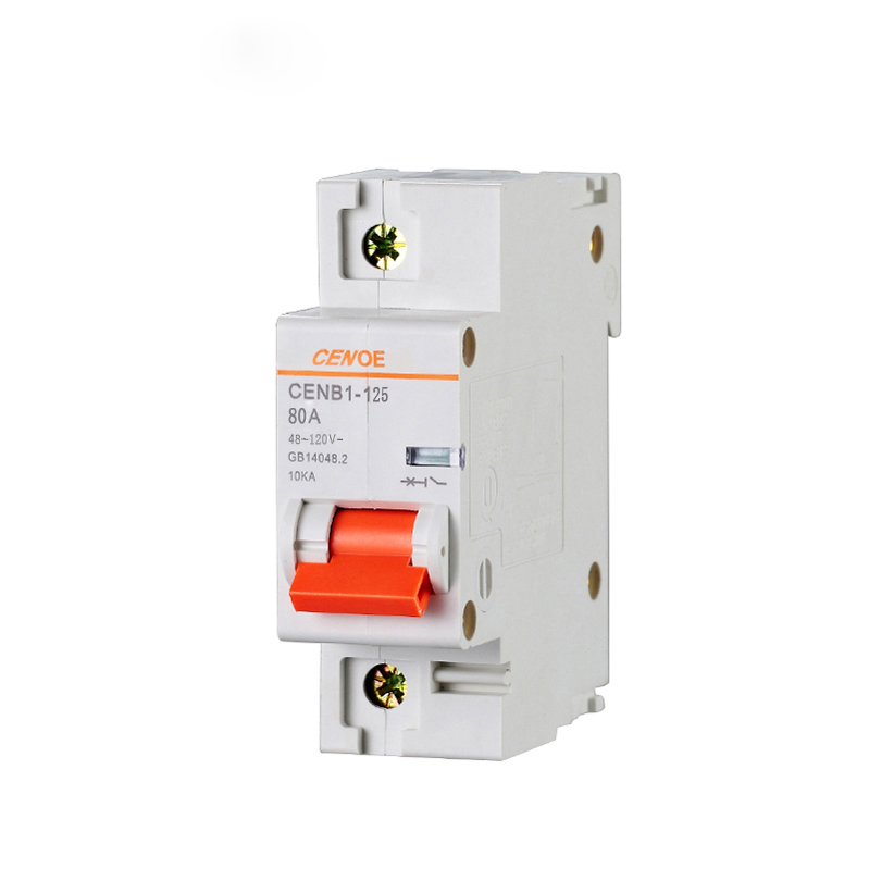 HTB1G0ByhyCYBuNkSnaVq6AMsVXaX - 1P 63A 80A 100A 125A DC 120V electric vehicle DC breaker mini DC circuit breaker with short circuit and overload protection