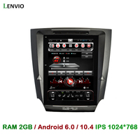 Lenvio 10.4IPS 2GB RAM Android 6.0 CAR Radio DVD GPS Navigation For Lexus IS250 IS300 IS350 2005 2006 2007 2008 2011 Quad Core