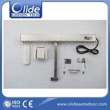 Отличное качество DC24V skylight электрический линейный привод окне цепи (приемник + пульт дистанционного управления включены)