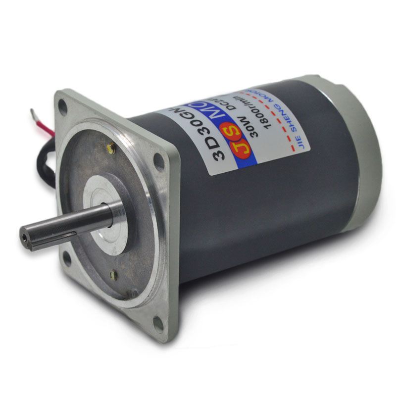 ФОТО 3D30GN-G-24  motor small motor micro-speed 1800 RPM high speed and high torque motor DC24/30W pros
