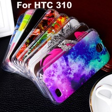 Soft TPU Plastic For HTC Desire 310 Phone Case For HTC Desire V1 310 D310 D310W 4.5 inch Phone Cover Shell Bags Hoods Housing