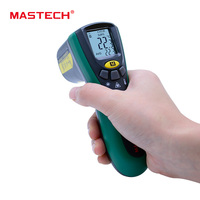 MASTECH MS6520A NEW Digital Temperature Meter Tester Laser Pointer Non Contact Infrared IR Thermometer FREE SHIPPING