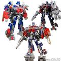 Novo tf 25 cm classe líder da28 imbecil optimus prime figura de ação robô de brinquedo para crianças presente frete grátis