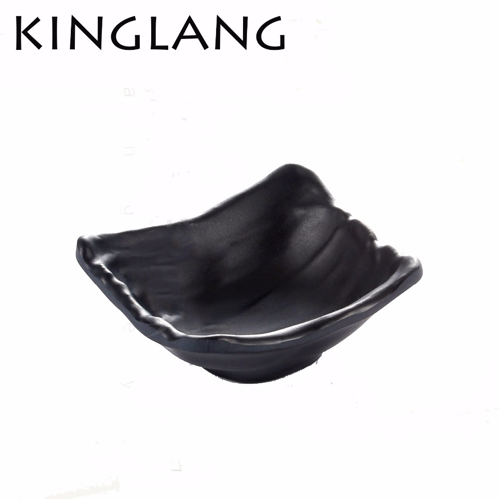 1pc  square deep soy sauce dish for restaurant