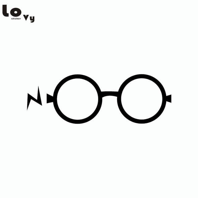 Película clásica Harry Potter vinilo pegatinas de dibujos animados ...
