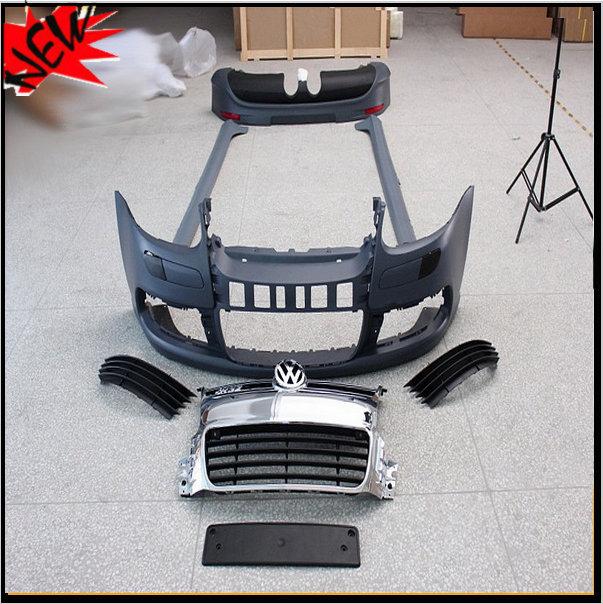 Unpainted ABS R32 Style Golf5 MK5 Car BodyKits Auto Car