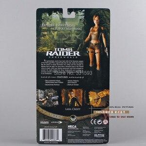 "Image 4 - Free Shipping NECA Tomb Raider Underworld Lara Croft PVC Action Figure 7"" 18CM New in Box MVFG118"