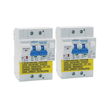 2pcs WIFI Smart RCBO Earth Leakage circuit breaker with Energy Monitoring compatible with Amazon Alexa ,Google for Smart Home earth observation for land and emergency monitoring