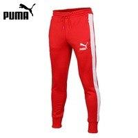 Original New Arrival 2018 PUMA Archive T7 Track Pants Men S Pants Sportswear
