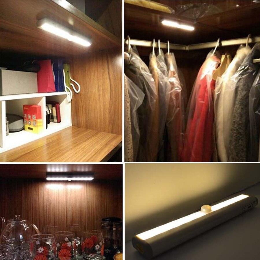 Luzes da Noite armário de cozinha gaveta do Formato : Sensor Night Light