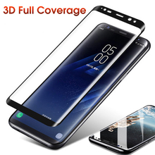 Full Glue Tempered Glass Film for Samsung Galaxy S9 S9+ S8 S8+ s7edge Note8 9 Screen Coverage 3D Liquid Uv Protector