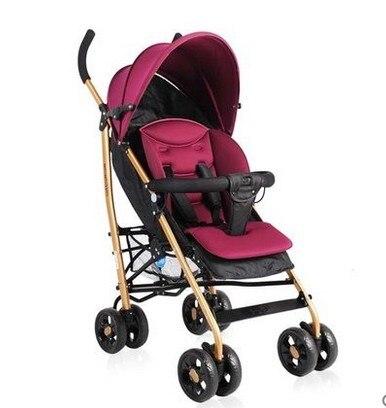 Baby stroller lying suspension umbrella car portable folding cart high landscape
