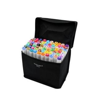 Image 5 - Touchnew Набор цветных маркеров для копирования, спиртовая фотография, ручка для рисования манги, набор акриловых дизайнерских ручек для студентов