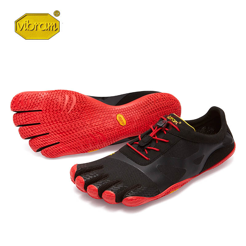 цена Vibram KSO EVO fivefingers Hot Sale Design Rubber with Five Fingers Outdoor Slip Resistant Breathable Light weight Shoe for Men онлайн в 2017 году