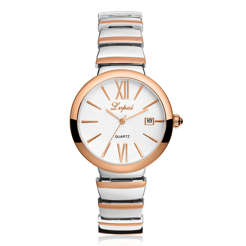 Lvpai New Watch Women Luxury Ladies Gold Classic Analog Quartz Watches Stainless Steel relojes mujer 2017 orologi donna Dropship watche women stainless steel band ladies crystal diamond quartz watch luxury rose gold wrist watches relojes mujer