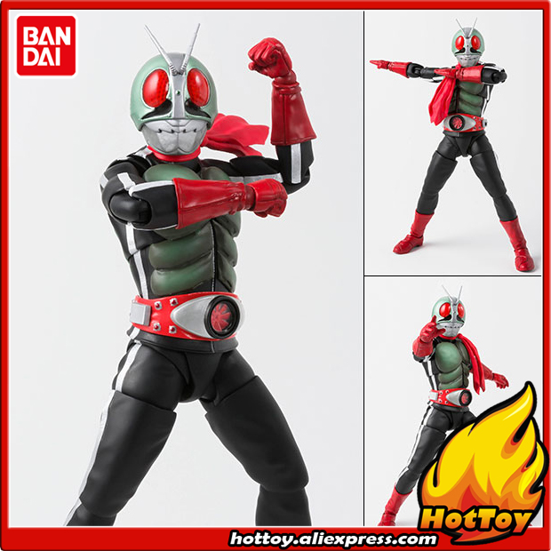 100% Original BANDAI Tamashii Nations S.H.Figuarts (SHF) Action Figure - Kamen Rider New 2 from Masked Rider