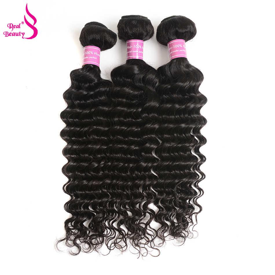 Peruano profunda encaracolado tecer cabelo humano pacotes 100g 1/3/4 pc/lote cor natural remy cabelo 100% trama do cabelo humano real beleza cabelo