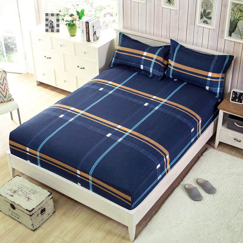 High Quality Colored Mattress Cover Elastic Ed Bedding Sheet Bed Pads Full Queen Size Zd009 In Covers Grippers From Home Garden On