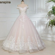Greenspine Ball Gown Wedding Dress 2019 Bridal Gown