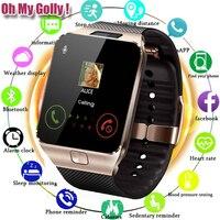 Bluetooth Smart Uhr DZ09 für Apple Uhr mit Kamera 2G SIM TF Karte Slot Smartwatch Telefon für Android IPhone xiaomi Russland T15-in Smart Watches aus Verbraucherelektronik bei